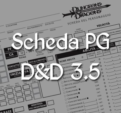 [Taverna] Scheda Personaggio D&D 3.5 PDF